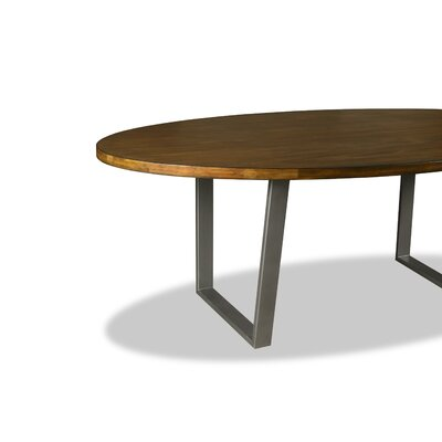 Maliana Dining Table Color: Walnut, Size: 30 H x 96 W x 96 D