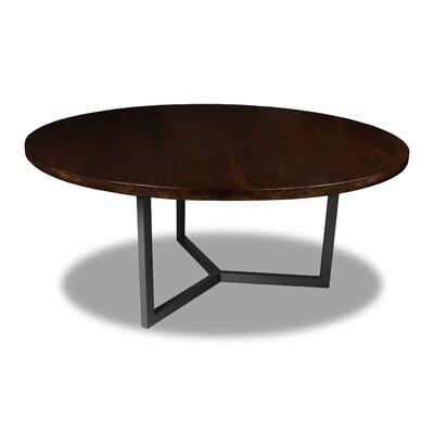 Gowen Dining Table Color: Cognac, Size: 30 H x 72 W x 72 D