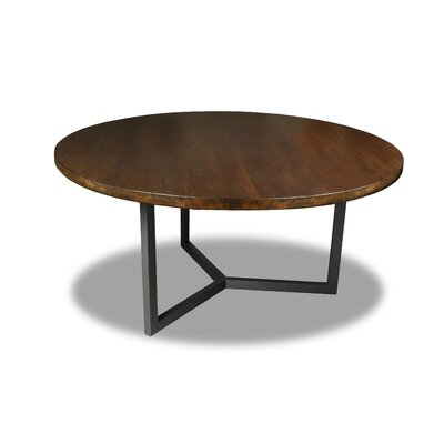 Gowen Dining Table Color: Walnut, Size: 30 H x 60 W x 60 D