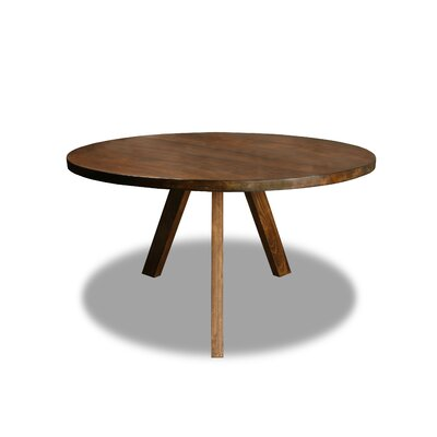 Mach Dining Table Color: Walnut, Size: 30 H x 54 W x 54 D