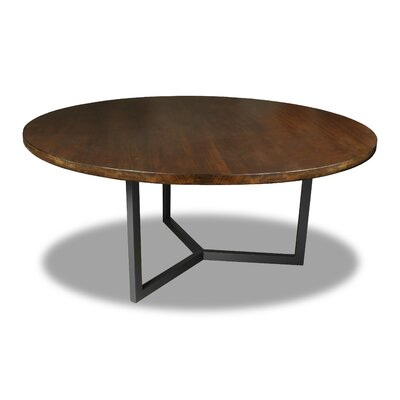 Gowen Dining Table Color: Walnut, Size: 30 H x 72 W x 72 D