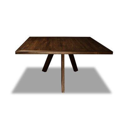 Mach Dining Table Color: Cognac, Size: 30 H x 72 W x 72 D