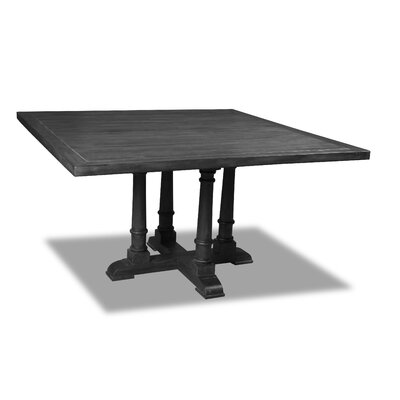 Kendrick Dining Table Color: Cement, Size: 30 H x 72 W x 72 D