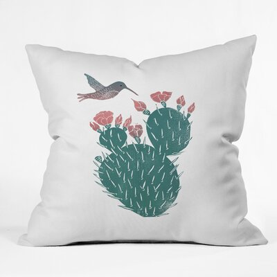Dash and Ash Morning Side Throw Pillow Size: 16 x 16