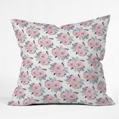 Iveta Abolina April Mist Throw Pillow Size: 20 x 20