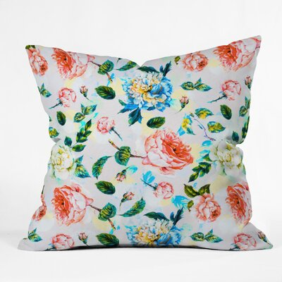 Marta Barragan Camarasa Blooming Throw Pillow Size: 16 x 16