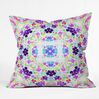 Lisa Argyropoulos Springtime Bliss Throw Pillow Size: 18 x 18
