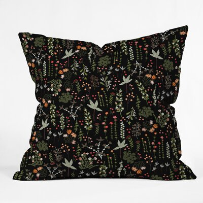 Iveta Abolina Floral Goodness Throw Pillow Size: 18 x 18