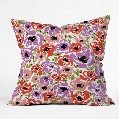 Gabriela Fuente Ultra Flora Throw Pillow Size: 26 x 26