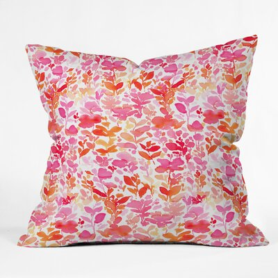 Jacqueline Maldonado Flirt Throw Pillow Size: 16 x 16
