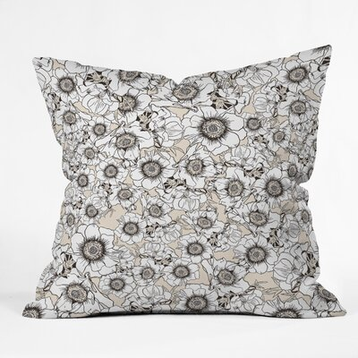 Gabriela Fuente Garden Throw Pillow Size: 16 x 16