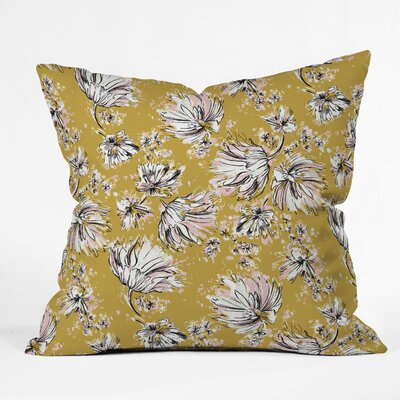 Pattern State Floral Meadow Throw Pillow Size: 18 x 18
