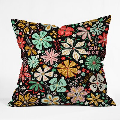 Jenean Morrison Petal Pop Throw Pillow Size: 20 x 20