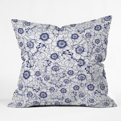 Gabriela Fuente Anny Throw Pillow Size: 18 x 18