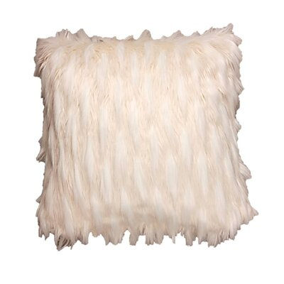 Perna Faux Fur Decorative Pillow Cover