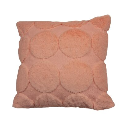 Clayborn Quilted Faux Fur Decorative Pillow Cover