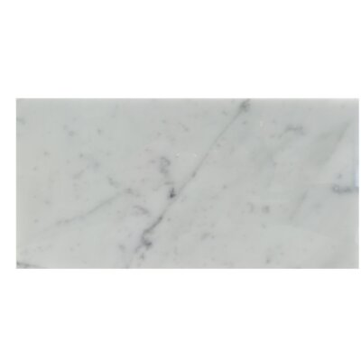 6 x 12 Natural Stone Field Tile in Carrara