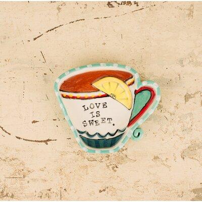 Furnier Love Is Sweet Teacup Decorative Plate 07C0880C31554C399535C6FEC8223556