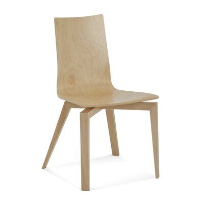 Couto Slip Plyshell Dining Chair Color: Shadow