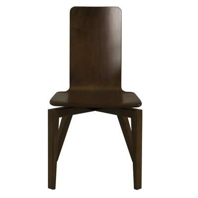 Barkingside Stretch Plyshell Maple Dining Chair Color: Shadow