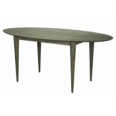 Couey Ellipse Dining Table Base Color: Shadow, Size: 36 W x 70 L