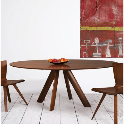 Cullison Dining Table Base Color: Shadow, Size: 54 W x 54 L