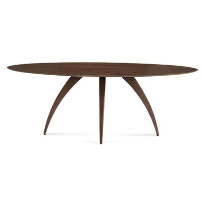 Cullum Ellipse Dining Table Base Color: Shadow