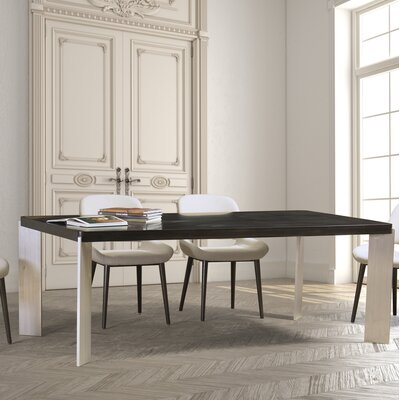 Sharonda Dining Table Top Color: Aurora, Size: 42 W x 96 L