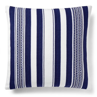 Nora Serape Stripe Cotton Throw Pillow