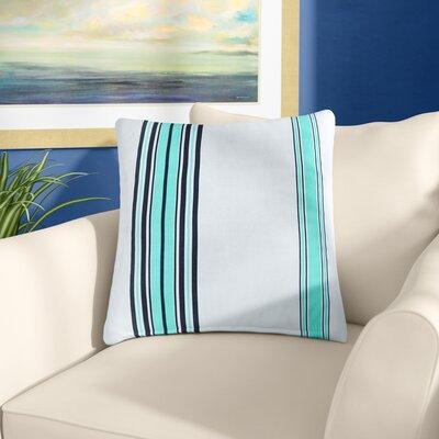 Corbin Outdoor Throw Pillow Size: 20 H x 20 W x 5 D, Color: Blue