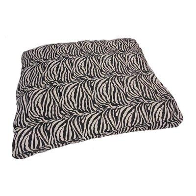 Eco Friendly Zebra Extra Plush Soft Dog Pillow Size: Small (18 W x 24 D x 6 H)