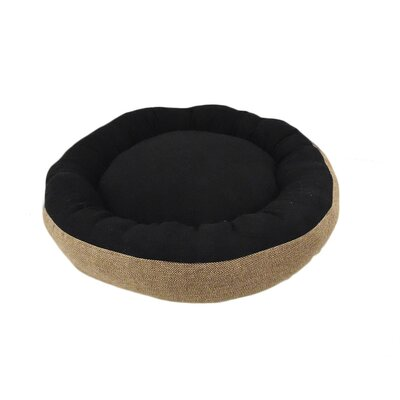 Eco Friendly Round Extra Plush Soft Dog Bolster Size: Small (18 W x 24 D x 6 H), Color: Beige