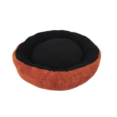 Eco Friendly Round Extra Plush Soft Dog Bolster Size: Small (18