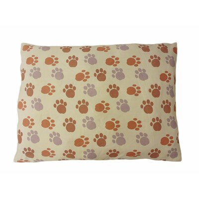 Eco Friendly Extra Plush Soft Dog Pillow Color: Beige