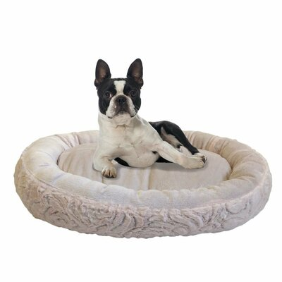 Eco Friendly Round Extra Plush Soft Dog Bolster