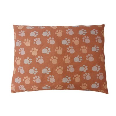Eco Friendly Extra Plush Soft Dog Pillow Color: Brown