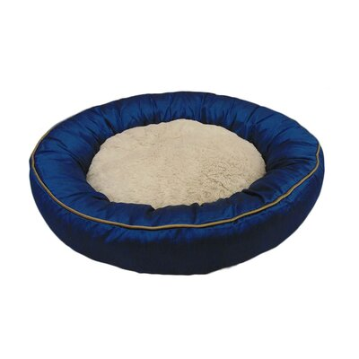 Eco Friendly Extra Plush Soft Dog Bolster Color: Blue