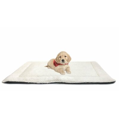 Eco Friendly Extra Plush Soft Faux Sherpa Dog Mattress for Crate