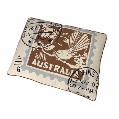 Australian Stamp Dog Pillow