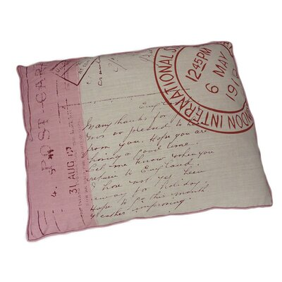 Stamp Dog Pillow