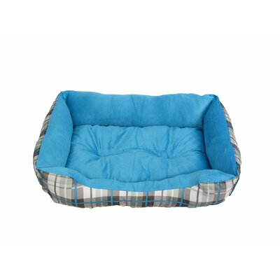 Eco Friendly Extra Plush Soft Dog Bolster Color: Blue