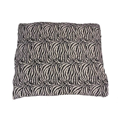 Eco Friendly Zebra Extra Plush Soft Dog Pillow Size: Large (18 W x 24 D x 11 H)