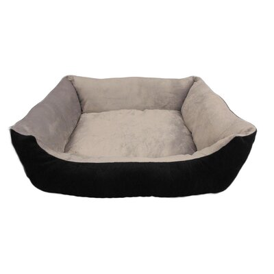 Eco Friendly Extra Plush Soft Dog Bolster Size: Small (26 W x 22 D x 4 H)