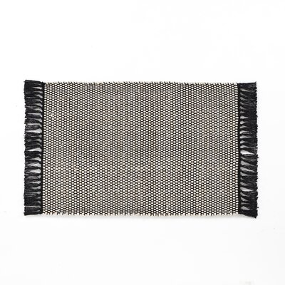 Feemster Solid Scatter Gray Area Rug Rug Size: Rectangle 30 x 46