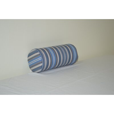 Fruitland Sundown Agora Indoor/Outdoor Bolster Color: Blue