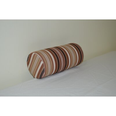 Fruitland Sundown Agora Indoor/Outdoor Bolster Color: Maroon