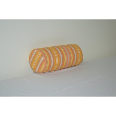Fruitland Sundown Agora Indoor/Outdoor Bolster Color: Orange