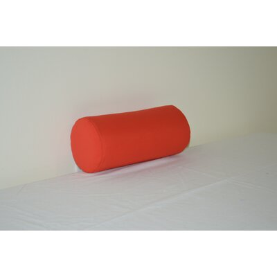 Fruitland Sundown Agora Indoor/Outdoor Chair Bolster Color: Red