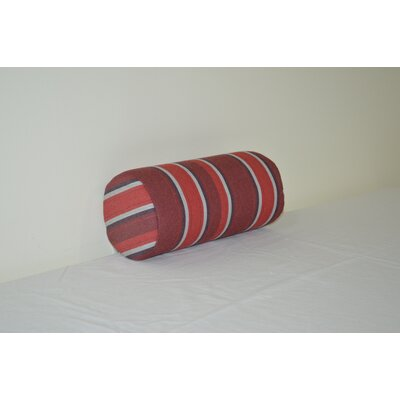 Fruitland Sundown Agora Indoor/Outdoor Bolster Color: Red