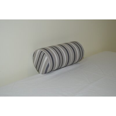 Fruitland Sundown Agora Indoor/Outdoor Bolster Color: Gray